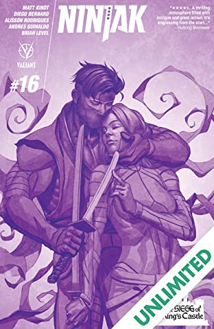 Ninjak (2015- ) #16: Digital Exclusives Edition